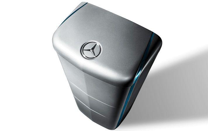 Mercedes-Benz lanza diseño de su futura batería para el hogar al estilo Tesla