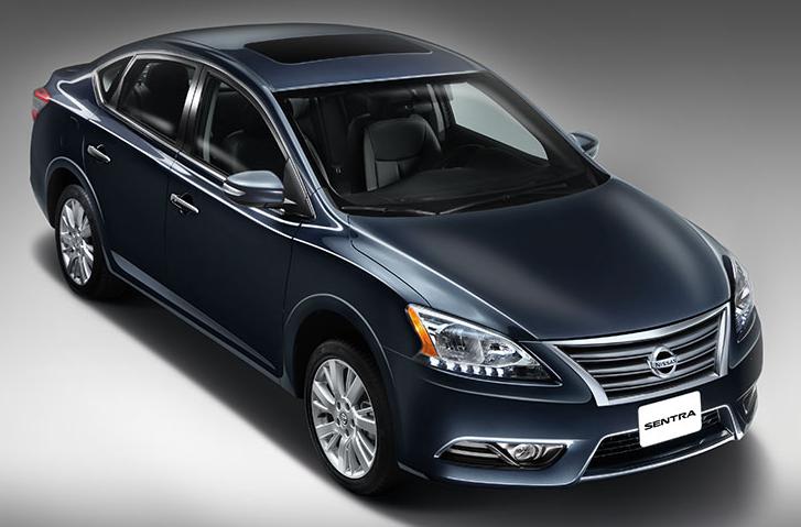 Nissan Sentra 2015 fue nombrado como el Mejor Vehículo Compacto
