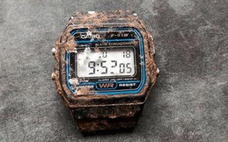 Un reloj Casio es hallado enterrado luego de 20 años y continúa funcionando