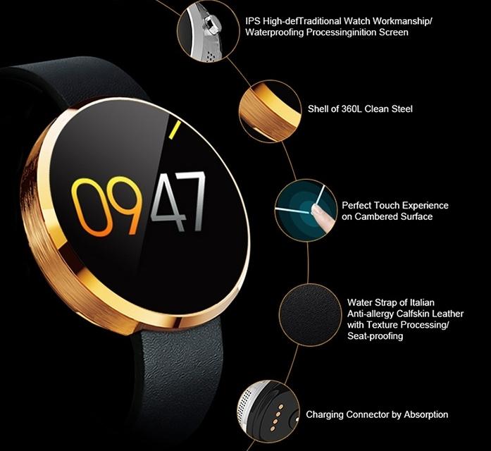 Zeaplus Watch DM360: un smartwatch de similar apariencia que el Motorola Moto 360
