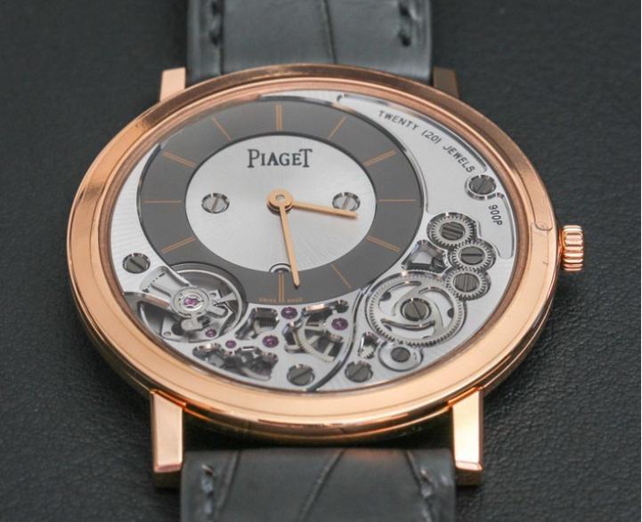 Piaget Altiplano 900P, el reloj más delgado del mundo