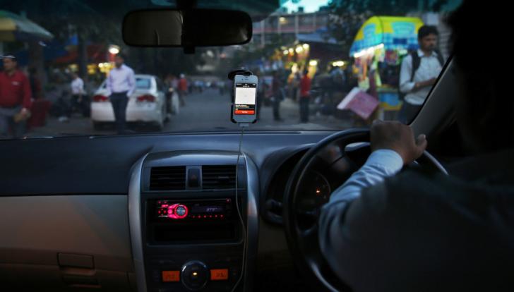 Uber planea invertir 1.000 millones de dólares en la India