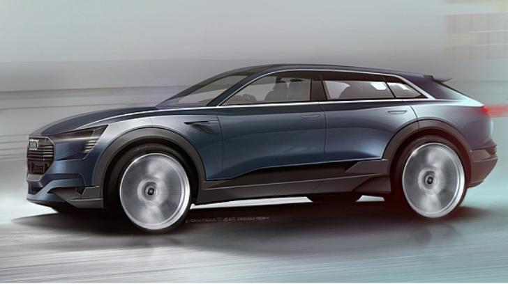 El Audi quattro e-tron concept: un magnifico auto de diseño hecho realidad