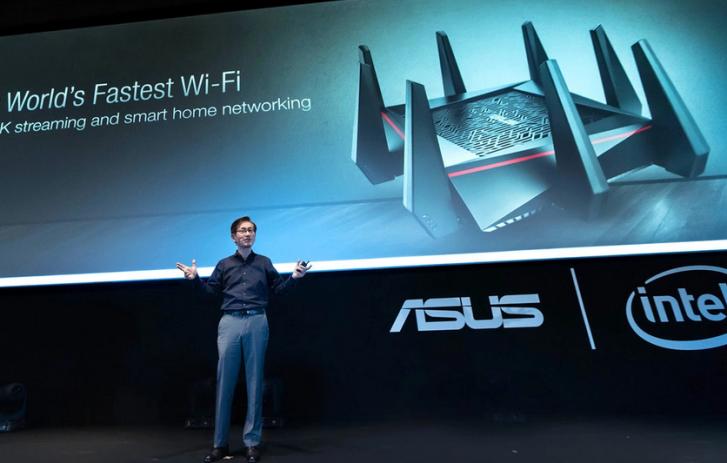 Asus presentó el router wifi más rápido del mundo