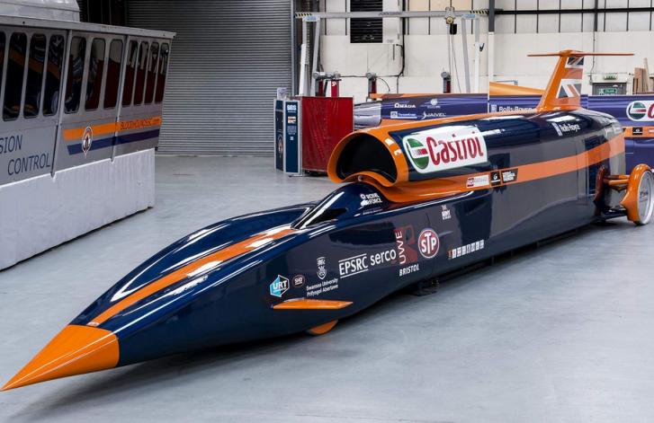 Bloodhound SSC, el coche más veloz del planeta