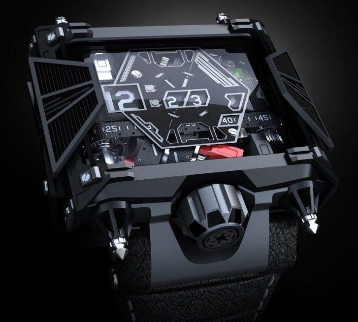 Darth Watch: reloj de 'Star Wars' que nos provocara el pasarnos al lado obscuro