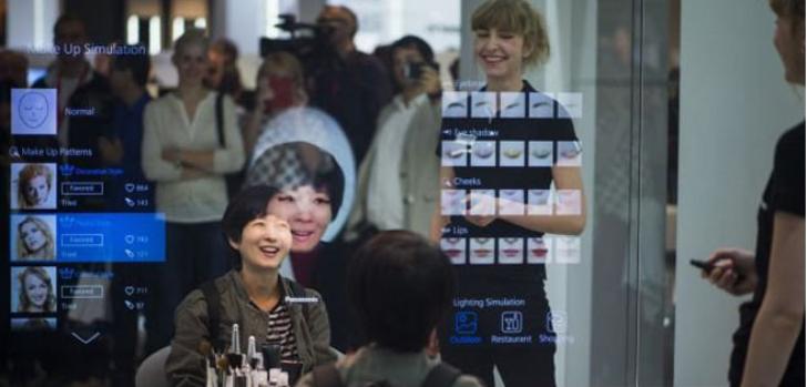 IFA 2015: Panasonic emociona con un mejorado espejo inteligente