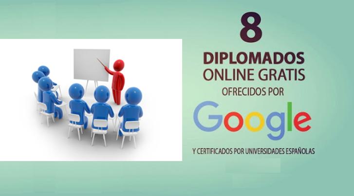 Google ofrece diplomados online gratuitos con certificado