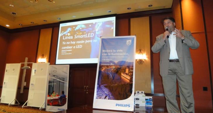 Philips presenta su reciente línea de iluminación SmartLED 2