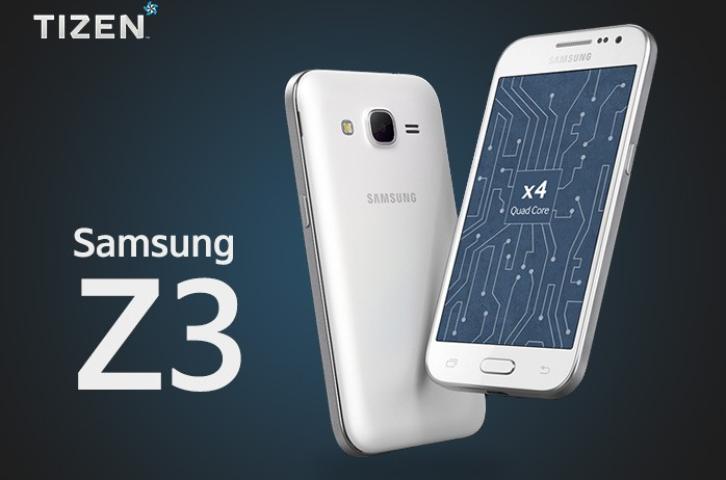 Z3, el segundo smartphone de Samsung con Tizen
