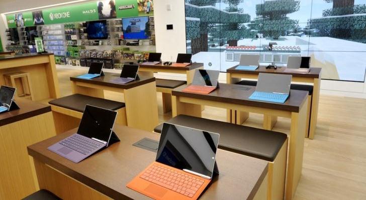 Microsoft inaugura su nueva tienda en la Quinta Avenida
