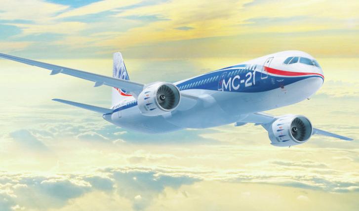 Rusia diseña un moderno avión comercial que competirá con Boeing y Airbus