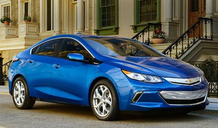 Las ventas del coche Chevrolet Volt en EE.UU. se encuentra en alza