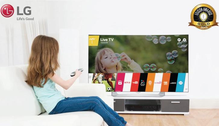 LG OLED TV gana el Premio de Oro por su eficiencia energética