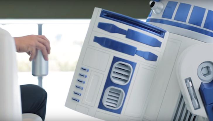 La nevera R2-D2 que todo fanático de Star Wars desea tener