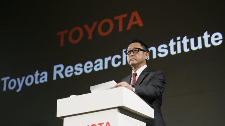 Toyota planea invertir mil millones de dólares en inteligencia artificial