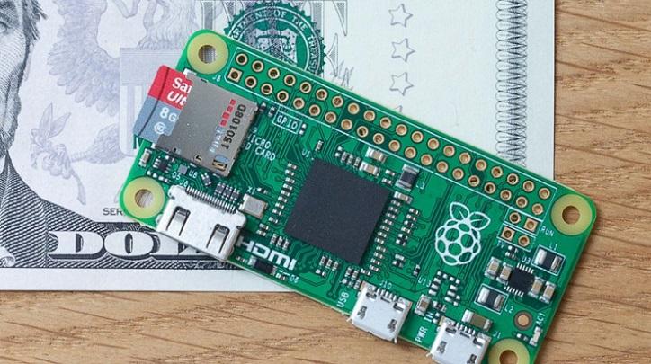 Raspberry Pi lanza su modelo Zero al precio de 5 dólares