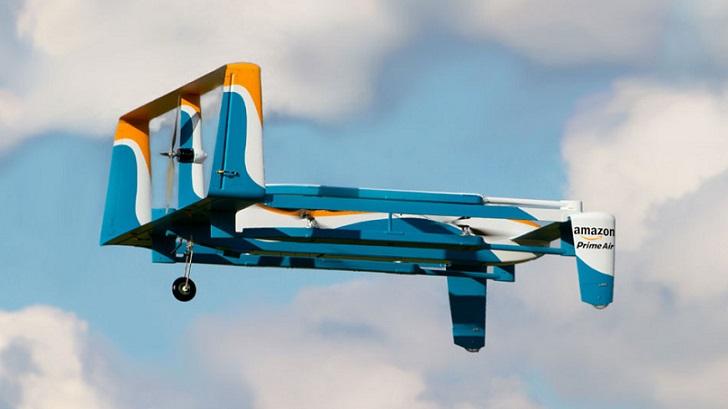 Amazon muestra su nuevo dron para Amazon Prime Air