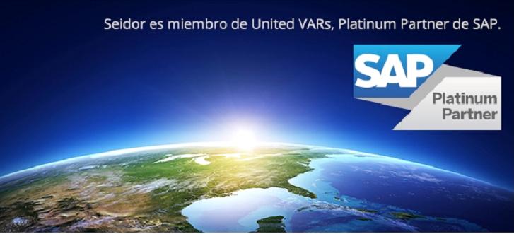 Seidor obtiene la categoría Platinum Partner de SAP