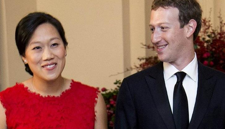 Mark Zuckerberg y esposa donarán el 99% de sus acciones en Facebook