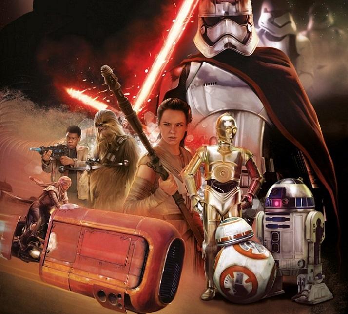 Star Wars 7, la tercera película más vista de la historia