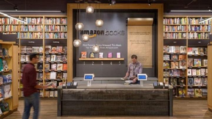 Amazon proyecta abrir 400 librerías físicas