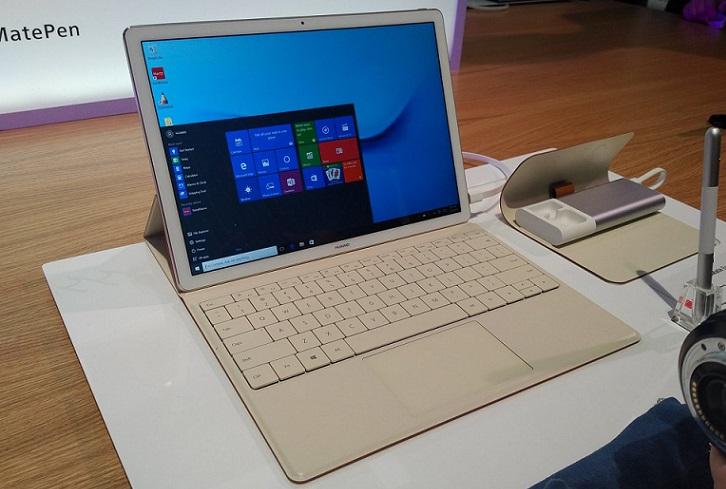 Huawei MateBook: nuevo dispositivo 2 en 1 de 12 pulgadas con stylus