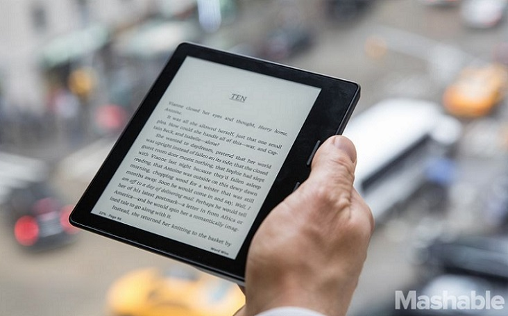 Amazon presento de manera oficial el Kindle Oasis