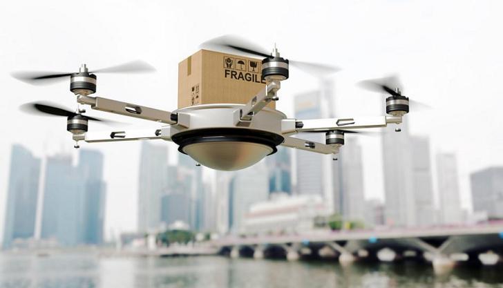 Amazon colabora con el gobierno británico para probar la mensajería con drones