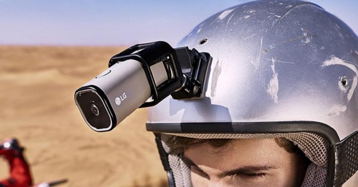 LG lanza su nueva Action Camera LTE