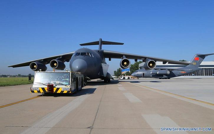 El Y-20, Nuevo avión de transporte pesado chino