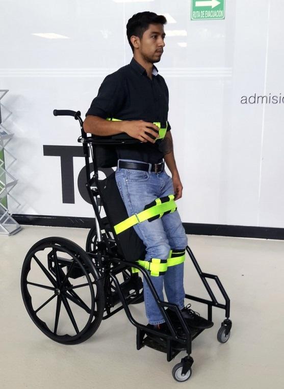 México: diseñan silla de ruedas estabilizadora que previene llagas