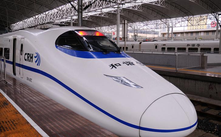Trenes bala Chinos registran récord mundial de velocidad en prueba de cruce