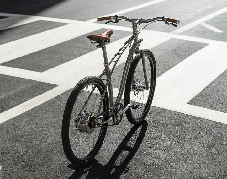 Budnitz Model E, la bicicleta eléctrica más bonita y ligera del mercado