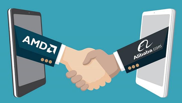 AMD y Alibabá Cloud se unen para ampliar su portafolio