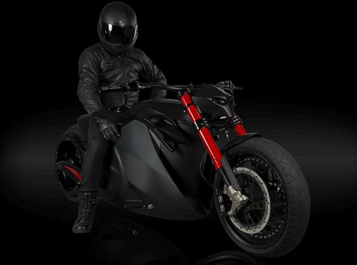 Zvexx: Una poderosa moto eléctrica de gran diseño