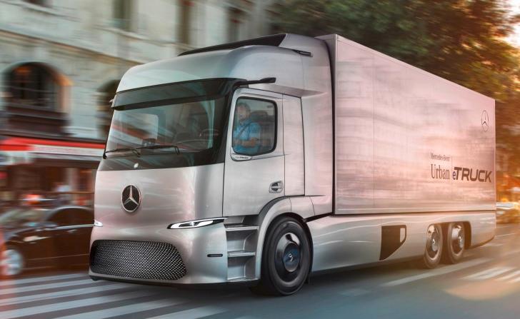 Camión eléctrico Urban eTruck de Mercedes listo para entrar en circulación