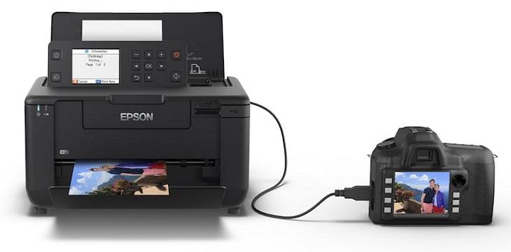 Epson lanza nueva impresora de fotos portátil