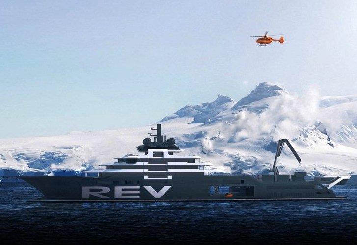 REV, el yate más grande del mundo para expediciones científicas