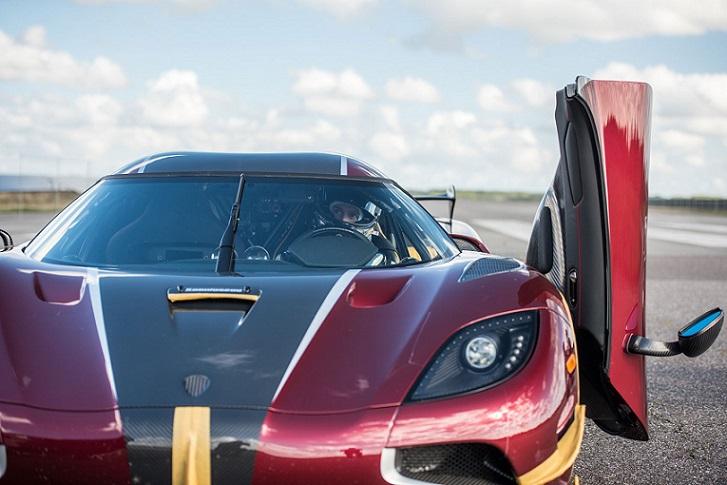 Koenigsegg Agera RS bate el récord mundial de velocidad en Nevada
