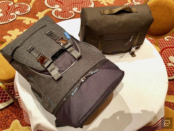 CabinR, la moderna mochila anti ladrones