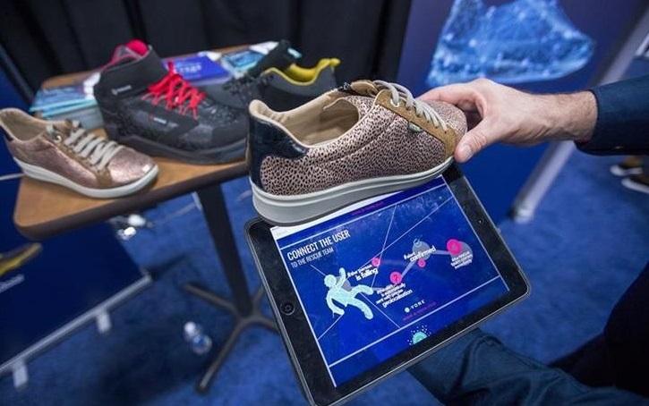 E-vone, empresa francesa presenta un novedoso zapato inteligente