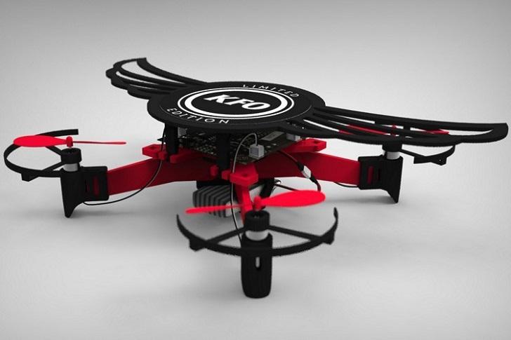 La cajita de KFC que se convierte en dron