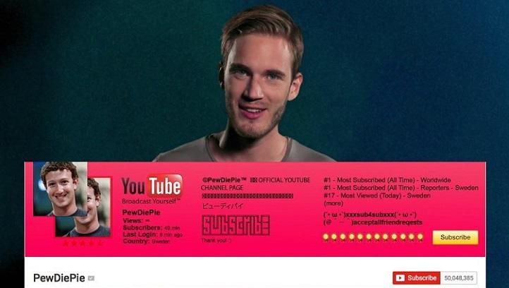 Los YouTubers que serán los mejores pagados del mundo este 2018