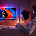 Philips OLED 973, TV de 65 pulgadas 4K con barra de sonido integrado