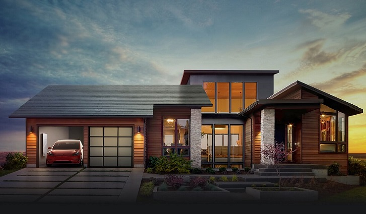 Tesla empieza a fabricar sus propias tejas solares