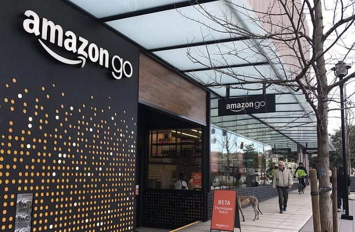 Amazon Go: un moderno supermercado para comprar lo que quieras sin pasar por un cajero