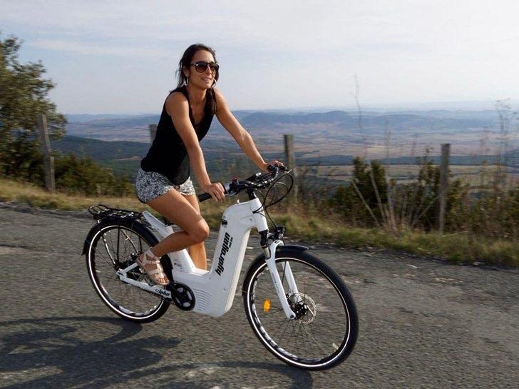 Bicicletas de hidrógeno: lo último en diseño para la movilidad del futuro
