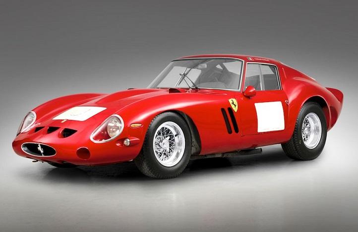 El auto subastado más caro de la historia es un Ferrari 250 GTO de 1962