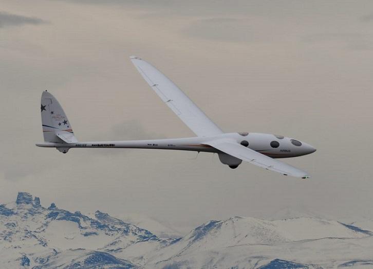 El planeador Perlan II de Airbus establece nuevo record de altitud